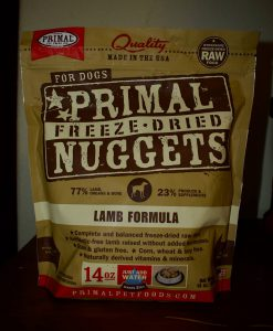 primal nuggets raw dog food